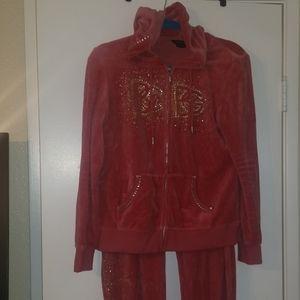 BcBGMAXAZRIA track suit with sparkle detail